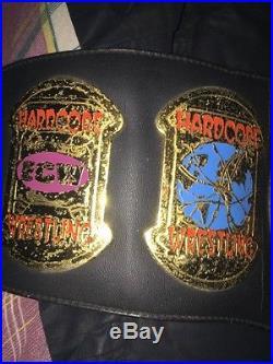 ECW World Heavyweight Championship Adult Sized Replica Belt Rare WWE NXT ROH