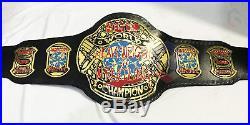 ECW World Wrestling Championship Leather Replica Adult size Belt