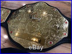 EDGE Signed WWE World Heavyweight Championship Commemorative Title Belt VIP COA