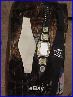 Edge Rated R Spinner Replica WWE WWF Championship Adult Title Belt