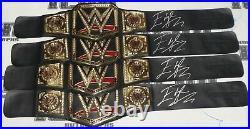 Edge Signed WWE Championship Toy Title Belt BAS Beckett COA Wrestling Autograph