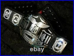 Fantasy Football Champion championship title belt football wwe man cave sports