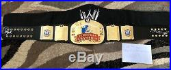 Figs WWE European Championship Belt Replica Signed By HBK & Xpac