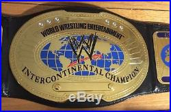 Figures Inc Wwe Oval Intercontinal Championship Belt Replica