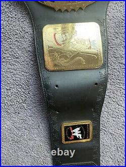 Figures Toy Co. Official WWF Big Eagle Championship Belt 2001 WWE Rare