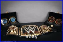 Fully loaded TV Accurate WWE Championship replica belt + 2 side plates WWF WCW