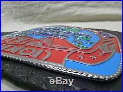 Georgia Television Championship Belt NWA WWE WCW ECW