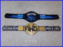 HOLLYWOOD HULK HOGAN SIGNATURE SERIES nWo CHAMPIONSHIP WWE REPLICA TITLE BELT