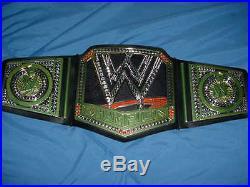 HULK HOGAN signed auto WRESTLING HEAVYWEIGHT CHAMPIONSHIP BELT JSA coa WWE WWF