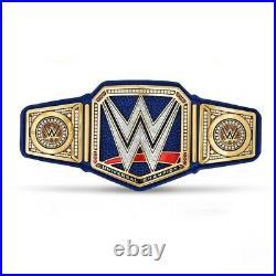 Heavy Weight Belt Title Wrestling WWE Championship Blue Replica 2mm Adult Belt