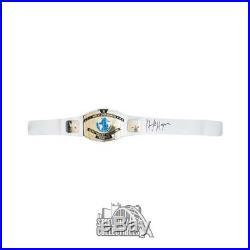 Hulk Hogan Autographed WWE Championship Belt JSA COA