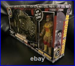 Hulk Hogan Jakks Heavyweight Championship Belt Classic Superstars WWE WWF WCW US