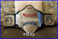 Independent Missouri State Championship Wrestling Belt! WWE WCW NWA ECW AWA