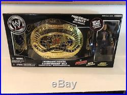 Jeff Hardy Signed Wwe Intercontinental Championship Belt Action Figure Wwf Wcw