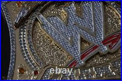 Jhon Cena Wwe Heavyweight Championship Replica Belt 2mm Bras Adult Size