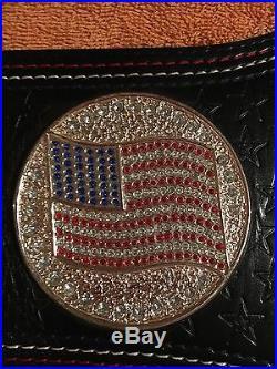 John Cena US Championship Replica Wrestling Belt WWE