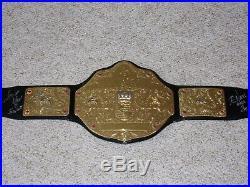 Kevin Nash & Scott Hall Signed Wwe World Heavyweight Championship Replica Belt