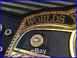 Leather Rebels NWA Domed Globe Real Handcrafted Championship Belt WWE WCW AWA