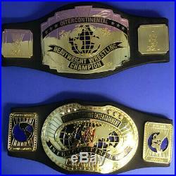 Lot Of 11 Used WWE WWF ECW Foam Championship Belts JAKKS Pacific Mattel