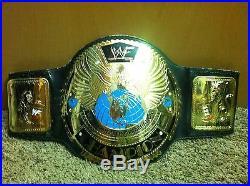 Mick Foley Signed WWF Replica Eagle Attitude Era World Championship Title Belt