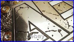 NEW AEW TITLE WORLD WRESTLING CHAMPIONSHIP BELT REPLICA BELT 6mm (ZINC) PLATES