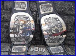 NEW! Tag Team Championship Belts 2 King Model Adult wwf Metal Plates wwe wcw