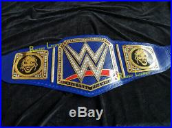 NEW WWE Blue Universal Championship Belt Adult Size Wrestling Replica Title