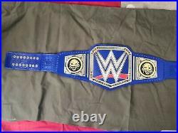NEW WWE Blue Universal Championship Belt Adult Size Wrestling Replica Title