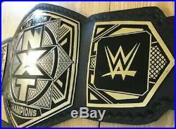 NEW WWE NXT TAG TEAM CHAMPIONSHIP Title BELT Replica ADULT SIZE (2mm Plates)