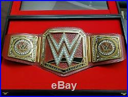 NEW WWE RAW Authentic Deluxe Universal Championship Belt DELUXE $750 RETAIL