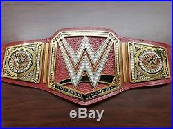 NEW WWE RAW Authentic Deluxe Universal Championship Replica Belt DELUXE VERSION