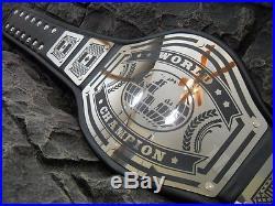NEW! World Championship Belt Avenger Metal Plates Adult Size wwf wwe wcw