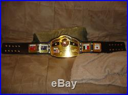 NWA TNA Globe dome heavyweight championship Adult replica wrestling belt WWE WWF