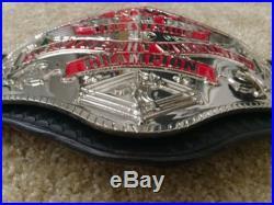 NWA Television Championship Belt Dave Millican, WWE, WCW, TNA