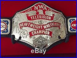 NWA Television Wrestling Championship Belt Dave Millican, WWE, WCW, TNA