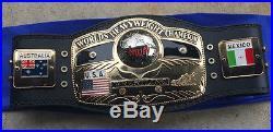 Nwa World Heavyweight Championship Wrestling Belt Wcw Ric Flair Wwe Wwf Dome Roh