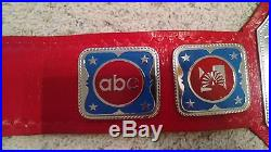 NWA WORLD TELEVISION TV CHAMPIONSHIP METAL ADULT SIZE REPLICA TITLE BELT wwe wcw