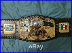 NWA WWE Heavyweight Championship Replica Belt