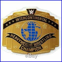 New Intercontinental Championship Wrestling Replica Belt WWE Leather Adult Size