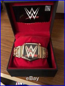 New Mens WWE Heavyweight Championship Title Belt Sport Wrist Watch COA Wwf Wcw