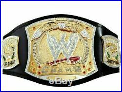 New Replica WWE Championship Spinner Title Belt Brass Metal Golden Plated