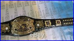 New Replica WWE Undisputed Championship Belt, Adult Size Metal Plates & Bag