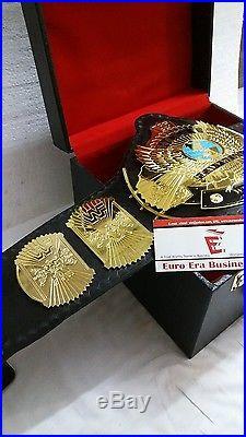 New Replica Winged Eagle Belt WWF WWE Championship Belt