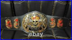 New SMOKING SKULL WWE / WWF World Heavyweight CHAMPIONSHIP Title Replica Belt