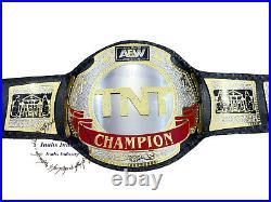 New TNT Championship Wrestling Replica Belt Original Black Leather