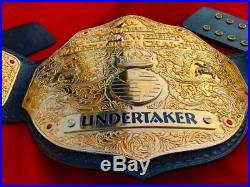 New WWE BIG GOLD Championship Title Belt 24k Gold Adult Size