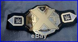 New WWE NXT Wrestling Championship Title Belt 4mm Gold Adult Size