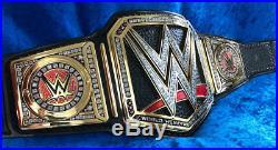 New WWE WORLD Heavyweight Championship Wrestling Title Belt 4mm Gold Adult Size