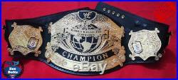 New WWF UNDISPUTED Wrestling Championship Title Belt 4mm Gold Adult Size
