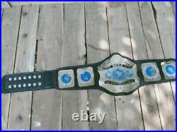 New World Heavyweight Wrestling Championship Title Adult Size Belt 2mm Plates
